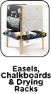 Easels, Chalkboards & Drying Racks