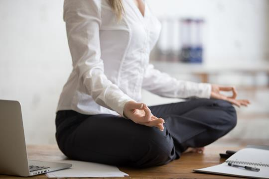 Use mindfulness techniques to de-stress