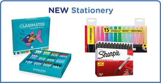 New stationery