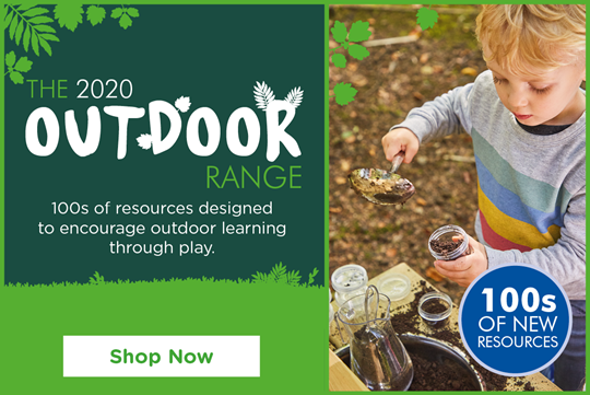 The Outdoor Range - 100s of resources to encourage outdoor play