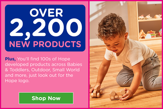 Over 2,200 New products