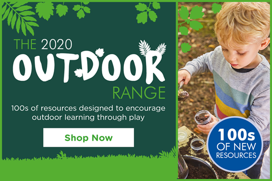 Outdoor - 100s of resources designed to encourage outdoor learning through plan