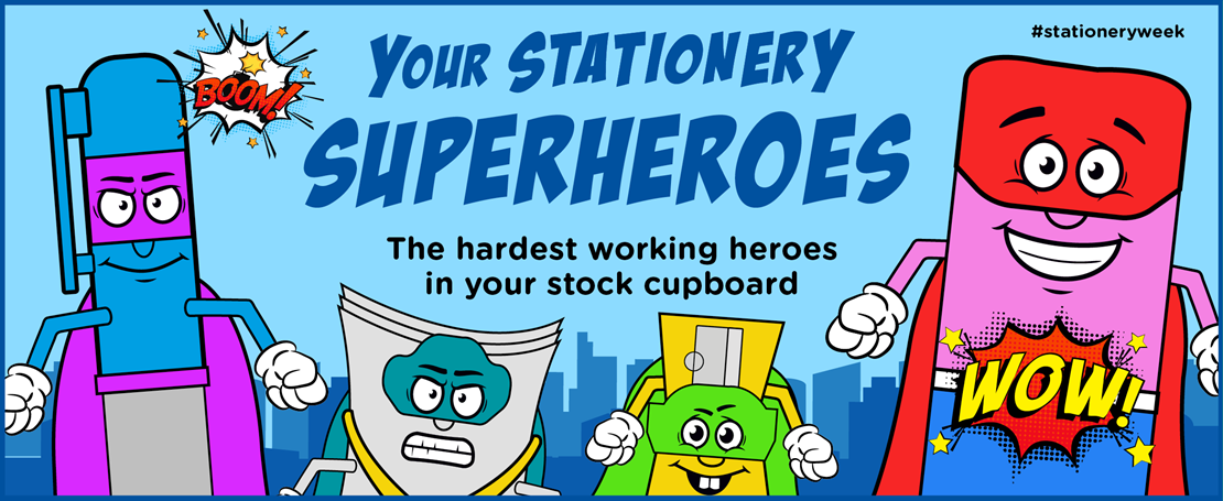 Your Stationery Superheroes